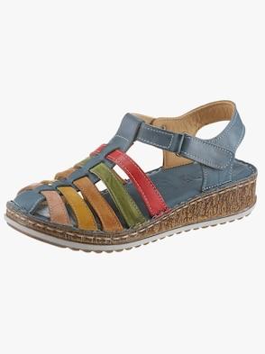 Sandalette - blau