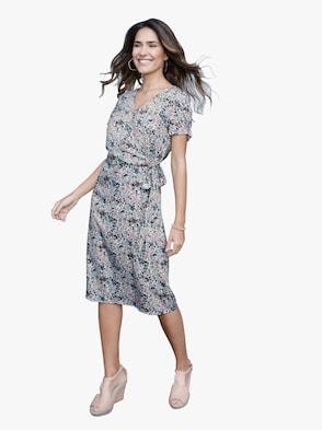 Kleid - mint-gemustert