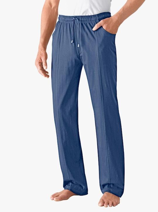 Kalhoty pro volný čas - džínová modrá