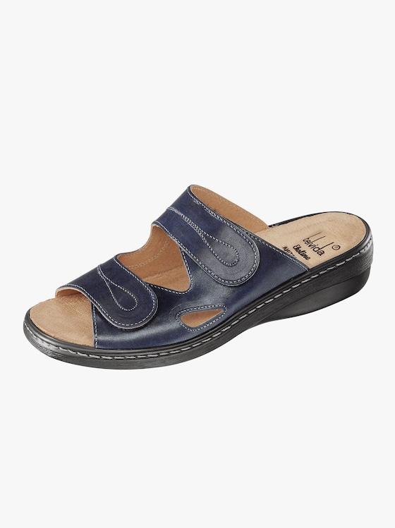 Franken Schuhe Pantolette - blau