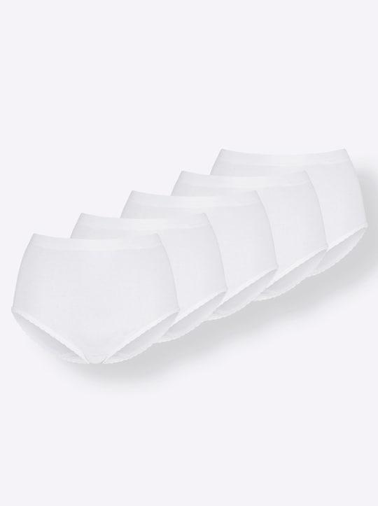 wäschepur Taillenslip - weiß