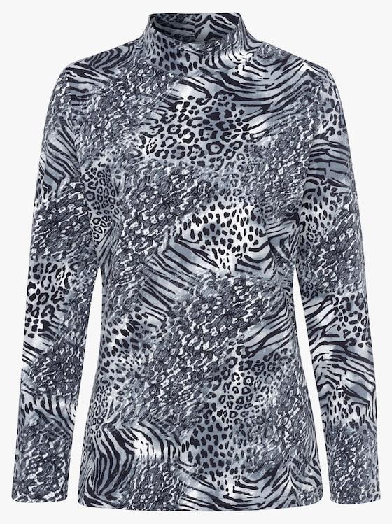 Shirt - grijs geprint
