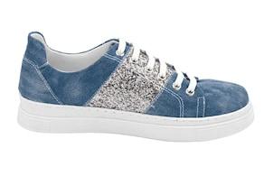 Andrea Conti Sneaker - jeansblau-silberfarben