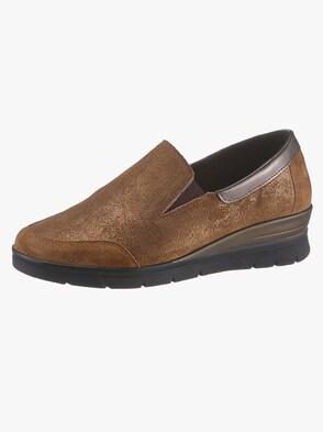 Slipper - bronzefarben