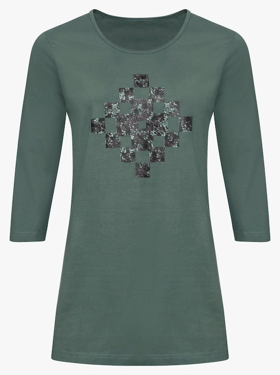 Longshirt - grün