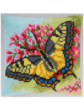 Stickkissen - Schmetterling