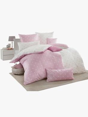 Dekbedovertrek - roze gedessineerd