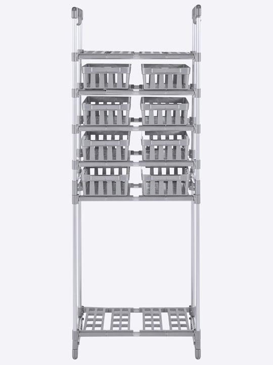 heine home Opbergrek - aluminiumkleurig