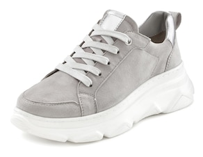 LASCANA Sneaker - hellgrau-silberfarben