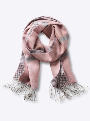 Schal - rosé