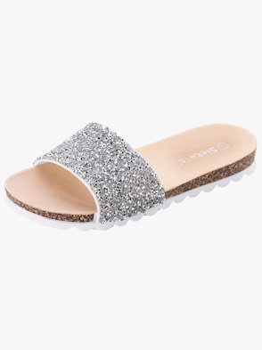 Badslippers - wit