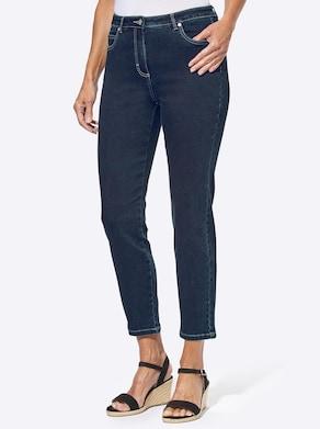 7/8-Jeans - dark blue-denim