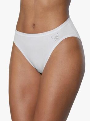 wäschepur Jazzpants - wit + zwart