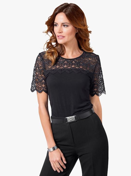 Fair Lady Shirt - zwart