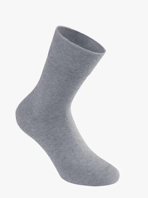 Socken - hellgrau-meliert