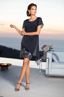 Patrizia Dini Cocktailkleid - nachtblau