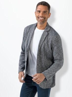 Marco Donati Jersey-Sakko - blau
