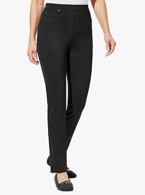 Jersey-Hose - schwarz