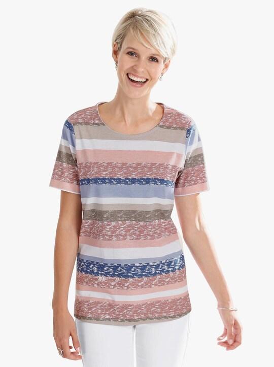 Shirt - roze geprint