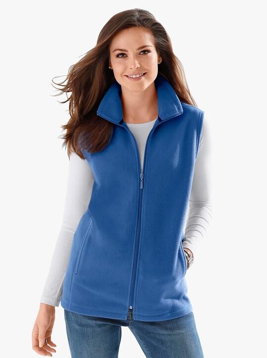 Fleecová vesta - noční modrá
