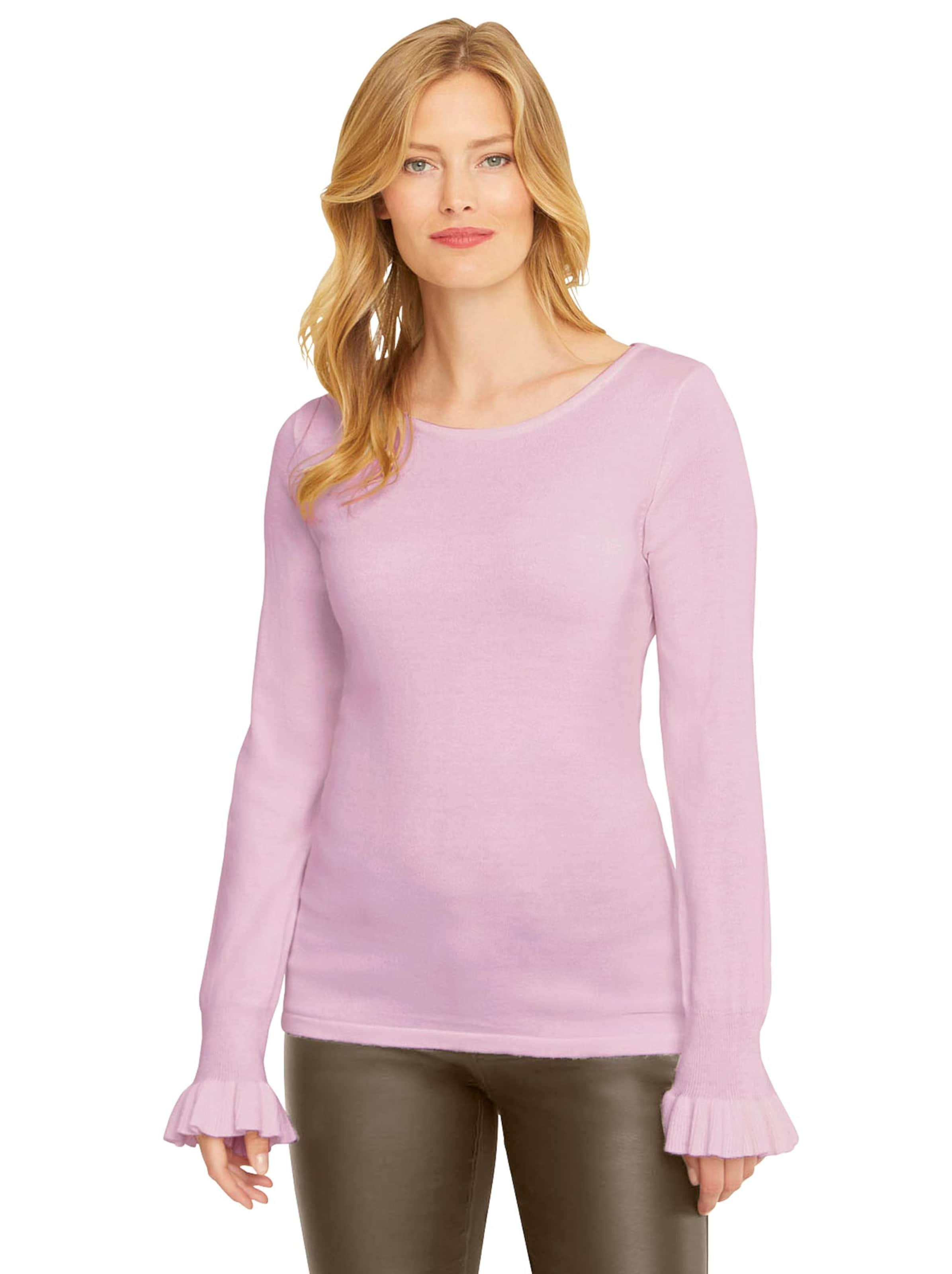 ashley brooke - Damen Pullover rosé