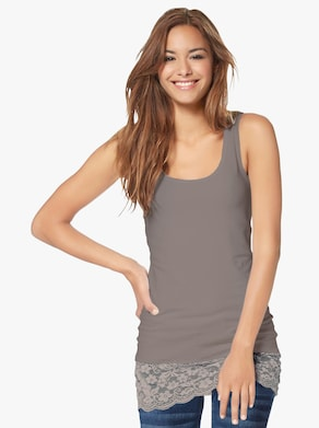 Shirttop - taupe