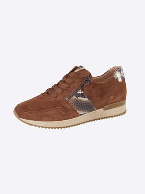 Gabor Sneaker - braun-snake