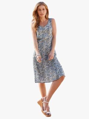 Kleid - blau Paisley