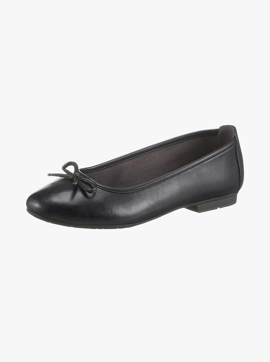 Jana Ballerinaskor - svart