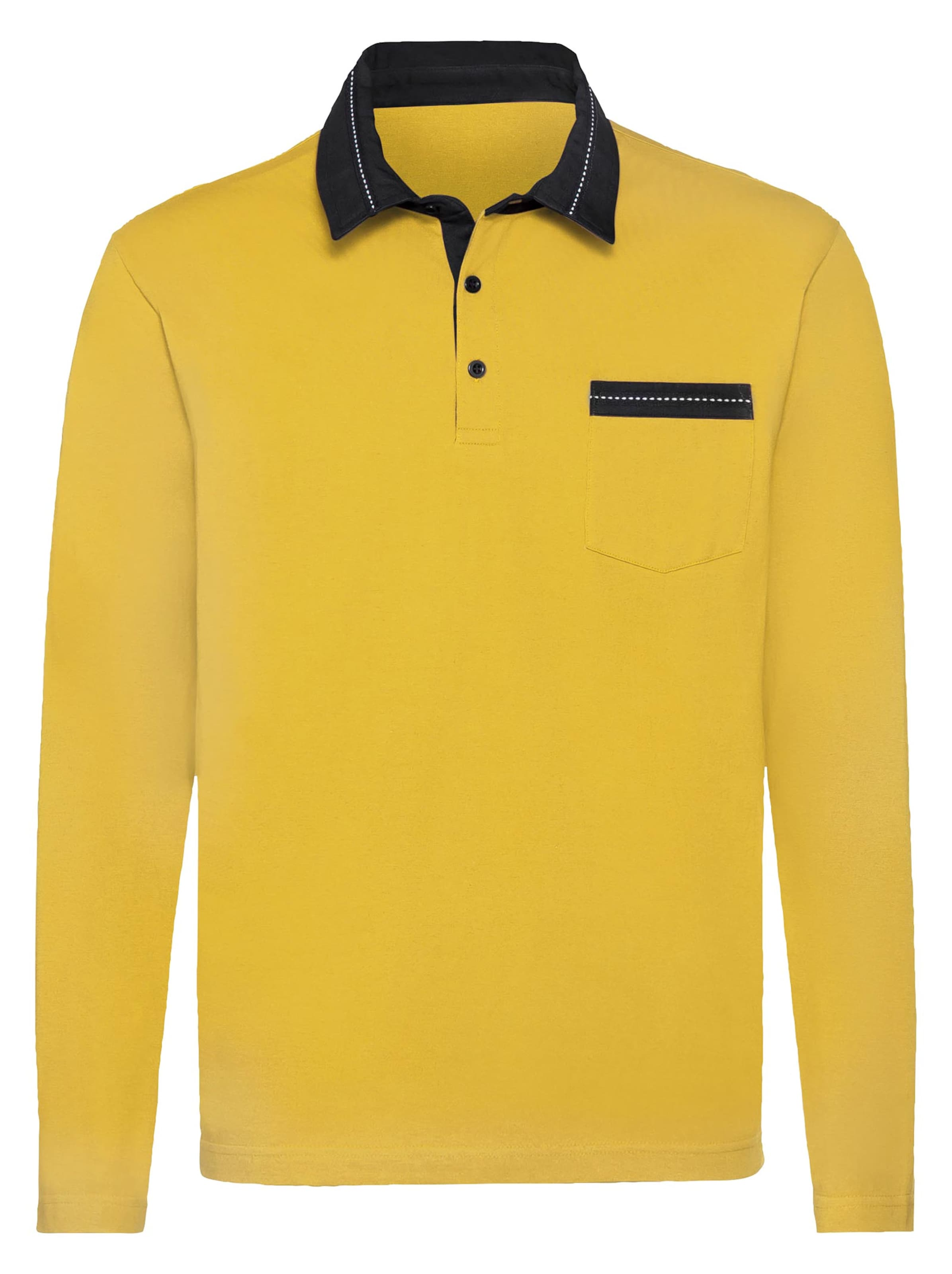 catamaran - Witt Weiden Herren Langarm-Shirt gelb