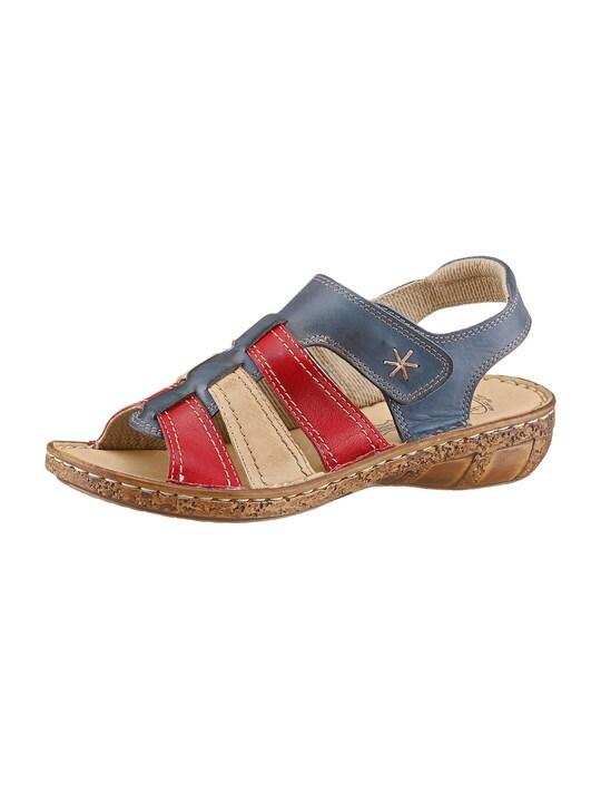 Airsoft Sandale - blau-rot