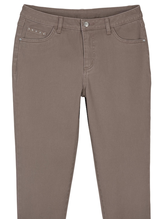 7/8-Jeans - taupe