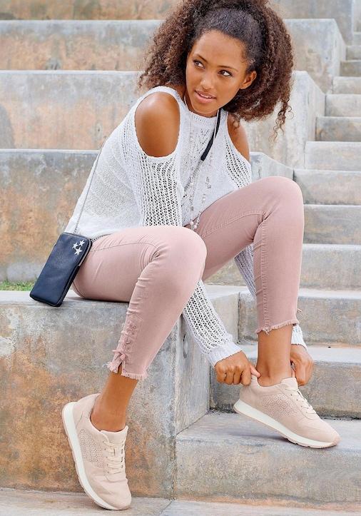 LASCANA Sneaker - rosé