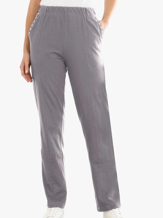 Kalhoty pro volný čas - středně šedá
