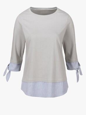 Shirt - silbergrau