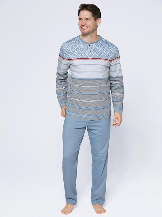 wäschepur Schlafanzug - rauchblau