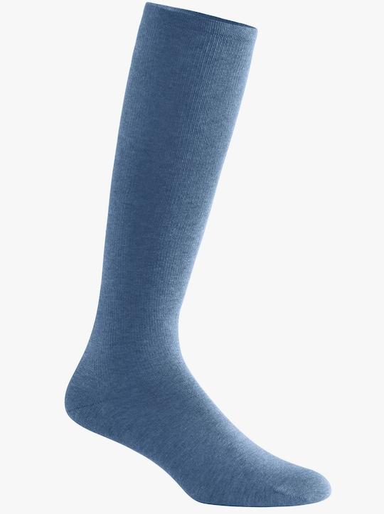 wäschepur Compressiekniekous - blauw