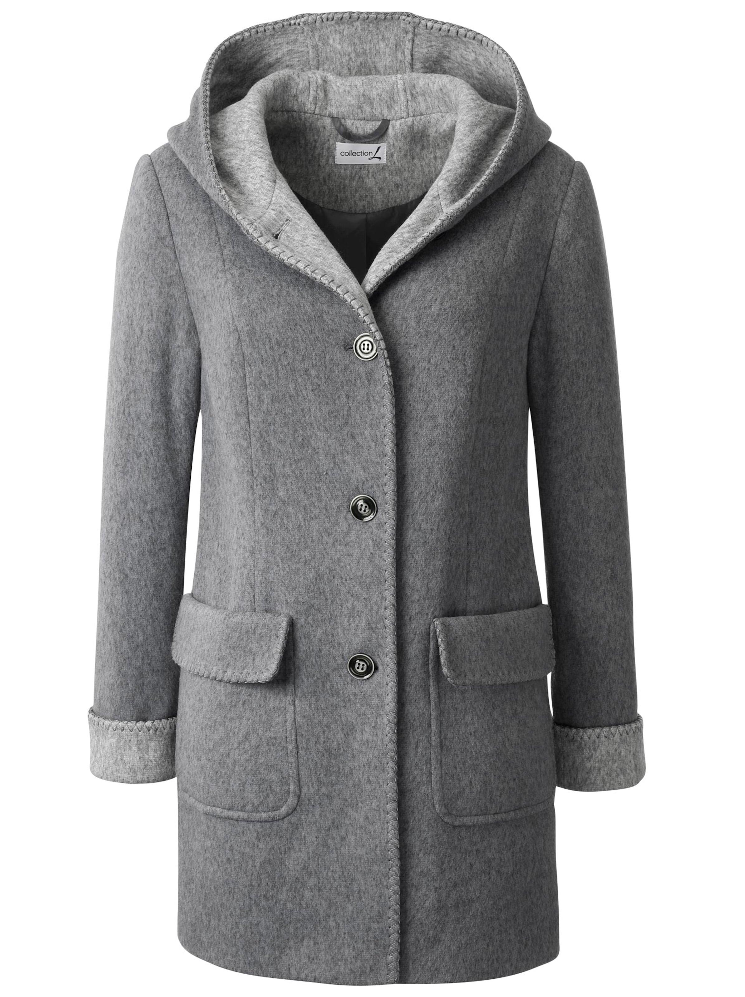 collection l - Witt Weiden Damen Jacke dunkelgrau-meliert