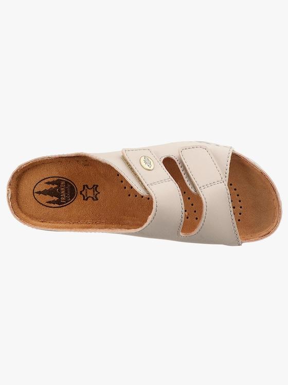 Franken Schuhe Pantolette - stein