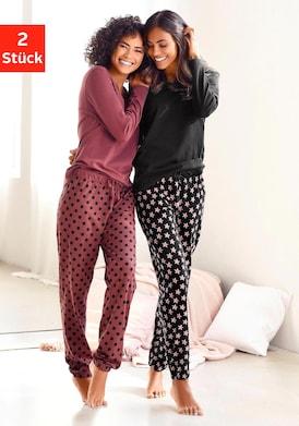 Vivance Dreams Pyjama - bordeaux