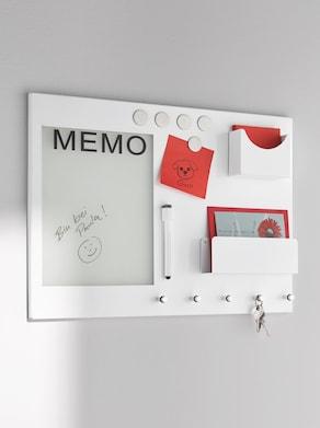 heine home Memoboard - weiß
