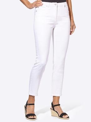 7/8-Jeans - weiß