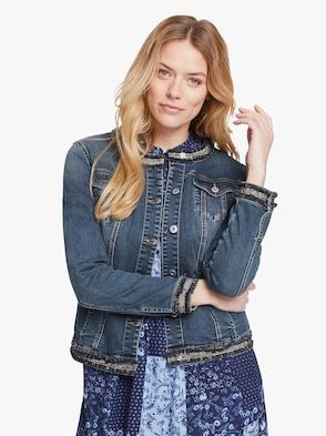 Jeans-Jacke - blue denim