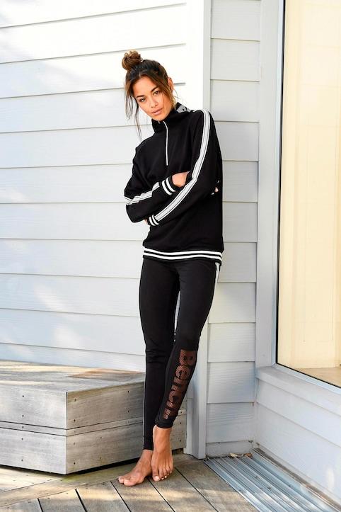 Bench. Sweatshirt - black
