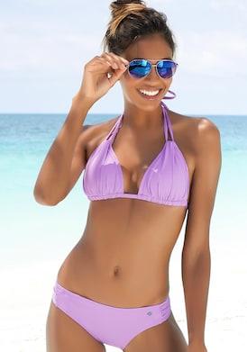 s.Oliver Triangel-Bikini-Top - lila