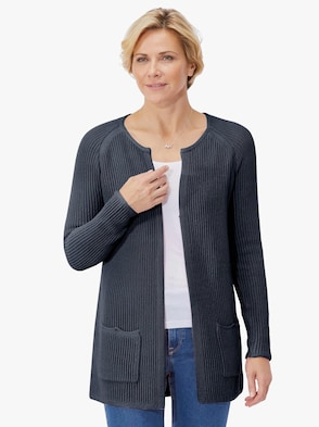 Strickjacke - marine