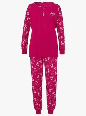 Pyžamo - Malinová potlač