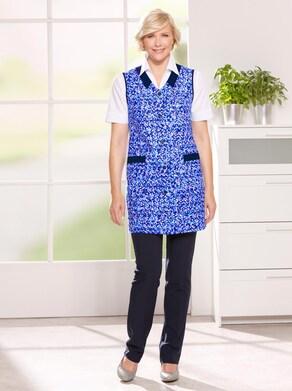 Kasack - blau-bedruckt