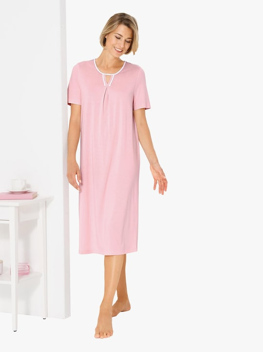 wäschepur Nachthemd - hellrosé