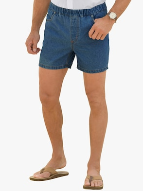Jeans-Shorts - blue-stone-washed